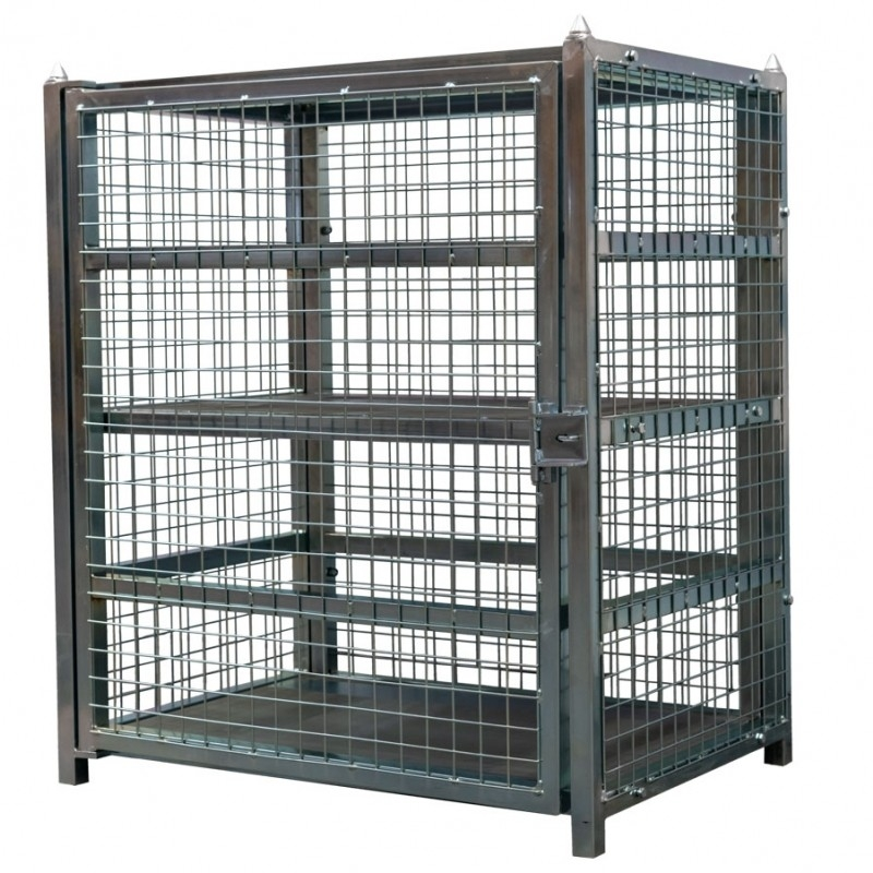 Storage Cages & Boxes