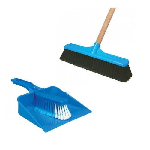 Brooms, Mops & Squeegees