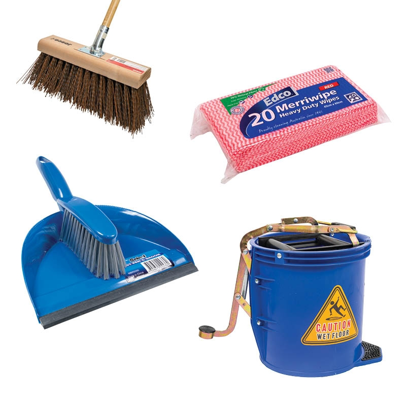 Brooms & Cleaning Equipment