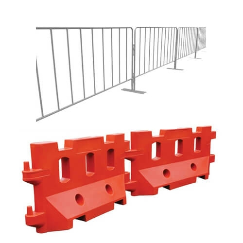 Crowd Control & Water Filled Barriers
