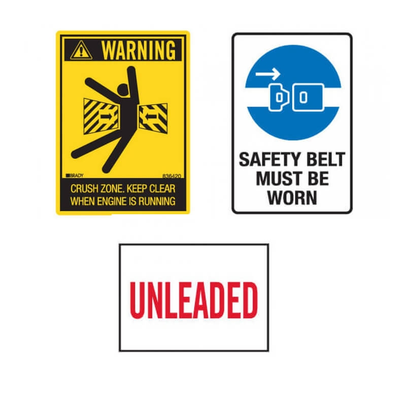 Machinery Safety Stickers