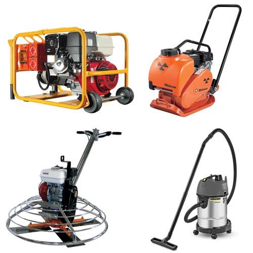 Powered Construction Equipment