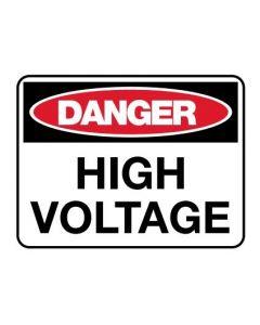 Danger Sign - DANGER HIGH VOLTAGE