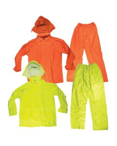 Rain set Fluoro Jacket & Pants
