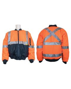 Hi-Vis Reflective Taped Jacket