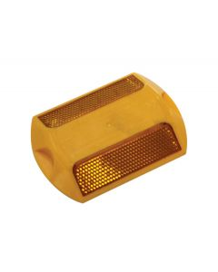 Raised Reflective Pavement Marker - Yellow Double Sided