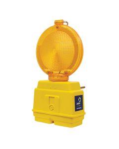 Hazard Lamp With Anti-Vandal Bracket - Flashing
