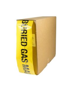 Mains Marker Tape Detectable Yellow Gas Main