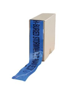 Mains Marker Tape Detectable Blue (Stormwater Main)