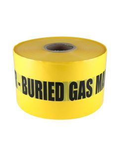 Mains Marker Tape Non-Detectable Yellow (Gas Main)