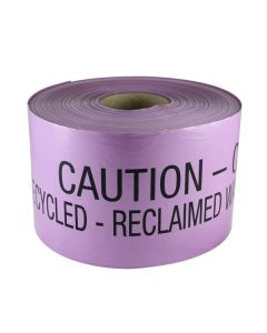 Mains Marker Tape Non-Detectable Lilac (Recycled Water Main)