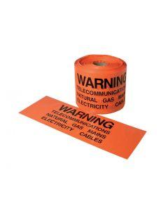 Mains Marker Tape - 3-Way Mains Marker Tape