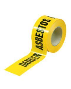 Barrier Tape DANGER ASBESTOS 50mx75mm