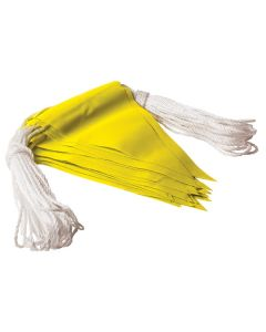 Safety Flagging / Bunting Yellow 30M