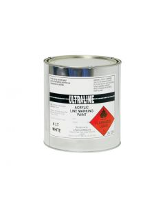 White Acrylic Road / Line Marking Paint 4L