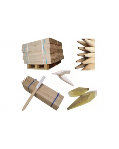 Painted Set-out Stakes 45 x 22 x 1000mm