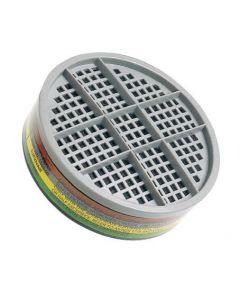 Survivair U100800 Multi Gas Respirator Filter A1B1E1K1,