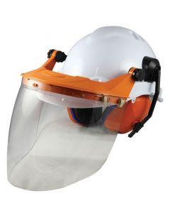 Chainsaw Head Protection - Clear Visor Kit