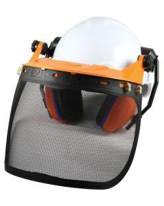Chainsaw Head Protection - Mesh Visor Kit