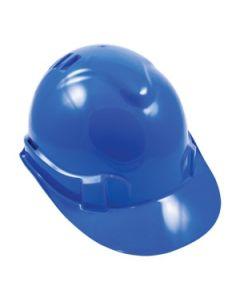 Premium Vented Hard Hat - Blue