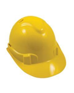 Premium Vented Hard Hat - Yellow