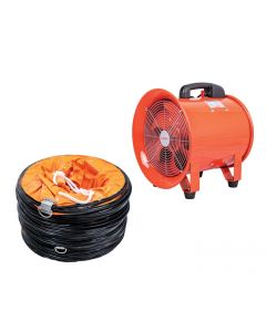 Axial Blower Fan includes 5m duct
