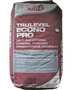 Aftek Trulevel Econopro Floor Level Underlay 20Kg Bag
