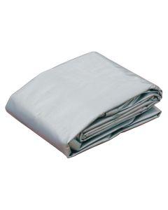 Tarpaulin, 7.3 x 4.8m, Silver/Black
