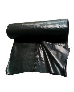250um Heavy Duty Black Plastic - 25m Roll