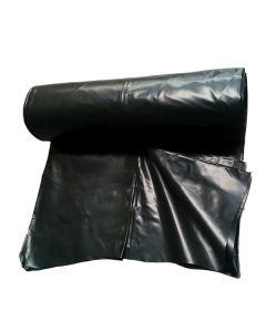 250μm, Heavy Duty Black Plastic, 50m Roll