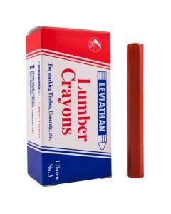 Leviathan Lumber Crayons D2 No. 3 Red
