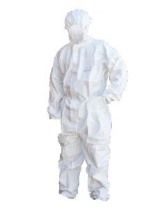Guardall Micropourous Coveralls - White