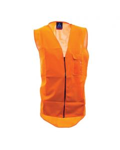 Orange Safety Vest Available in L - 3XL