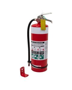 Fire Extinguisher 4.5Kg ABE - With hose & wall mount bracket