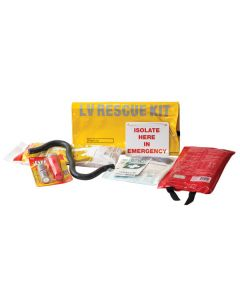 Electric Shock Low Voltage Rescue Kit - LV Rescue First Aid Kit for Electricians