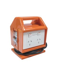 Portable Power Block Outlet, 10A