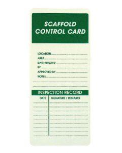 Scaffold Control Card