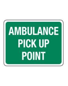 Ambulance Pick Up Point