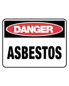 Safety Sign - Danger Asbestos 225 x 300mm
