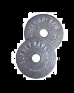 Double Sided Boundary Marker Disc 40mm Diameter