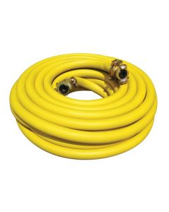 """Jack Air hose kit, 20m x 25 mm ID / 1"""" ID fitted with Type A claw fittings"""