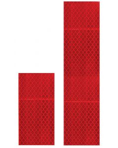Reflective Delineator - Red 50 x 200mm