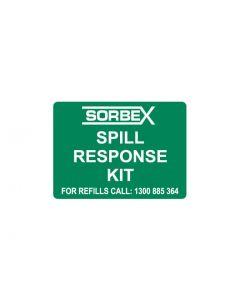 Emergency Sign - SOBEX SPILL RESPONSE KIT