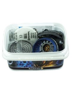 Sundstrom Asbestos Kit with Half Face Respirator and Filters