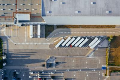 Radically increase car park safety at your warehouse