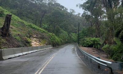 Jersey Kerbs aid Blue Mountains landslide remediation